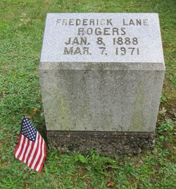 Frederick Lane Fred Rogers Jr 1888 1971 Find A Grave Memorial