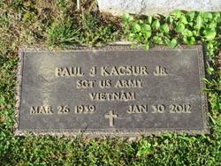 Paul J Kacsur, Jr