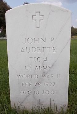 John J <I>Kilpatrick</I> Audette