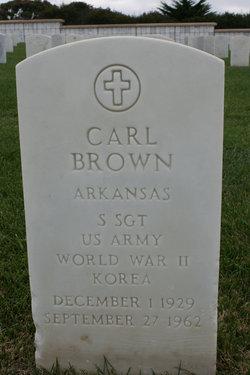 SSGT Carl Brown