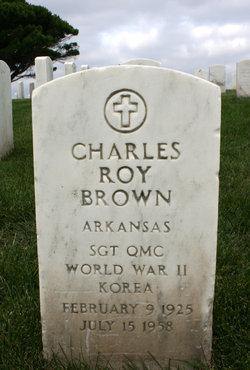 Charles Roy Brown