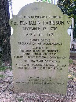 COL Benjamin Harrison, V