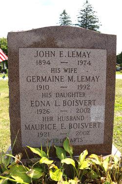 Edna L. <I>Lemay</I> Boisvert