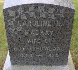 Caroline Hobart <I>Mackay</I> Howland