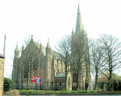 Walshaw Christ Church Churchyard