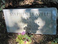 Stephen Leavell Saxton