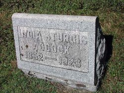 Lydia <I>Sturgis</I> Adcock
