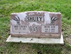Ruth Ann <I>Bradley</I> Shuey