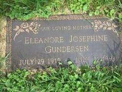 Eleanore Josephine <I>Renner</I> Gundersen