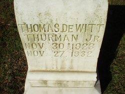 Thomas Dewitt Thurman, Jr