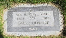 Eva Clarice <I>Malan</I> Henline