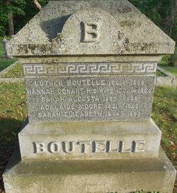 Hannah <I>Conant</I> Boutelle