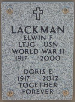 Doris Elizabeth <I>Spuhler</I> Lackman