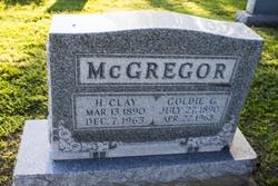 Goldie <I>Gilbert</I> McGregor