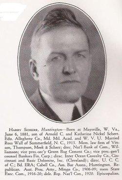 Harry Garfield Scherr Sr.