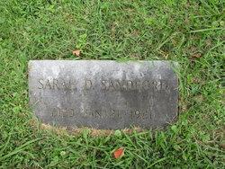 Sarah Dell <I>Perry</I> Sandford