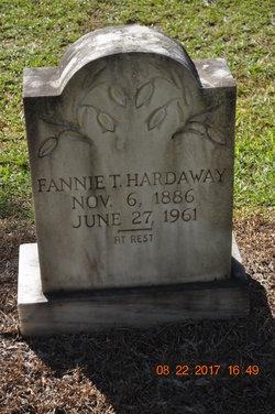 Fannie T. Hardaway
