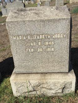 Maria Elizabeth Hobby