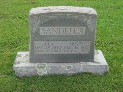 Lula T <I>Vinson</I> Sandefur