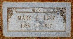 Mary Elizabeth <I>Jackson</I> Lutz