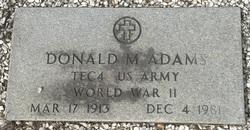 Donald Mallory Adams
