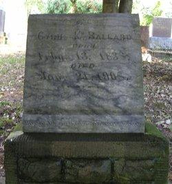 Cyrus K. Ballard