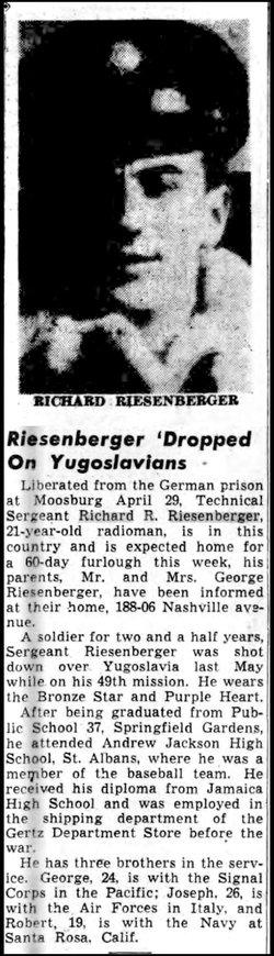 Richard R Riesenberger