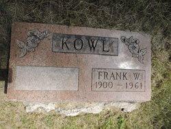 Frank W Kowl