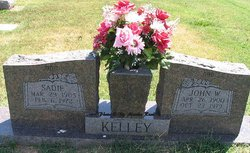 "Kanzada Katherine ""Sadie"" <I>Richards</I> Kelley"