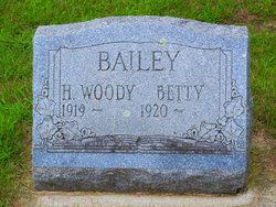 "Homer Woodrow ""Woody"" Bailey"