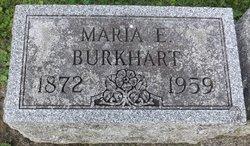 Maria Elisabeth <I>Auck</I> Burkhardt