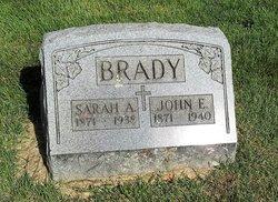 Sarah A <I>McCloskey</I> Brady