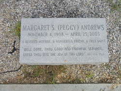 "Margaret ""Peggy"" <I>Scruggs</I> Andrews"