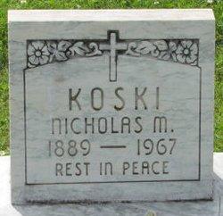 Nicholas M. Koski