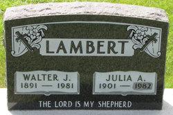 Julia A. Lambert