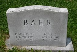 Donald E Baer