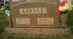 Minnie R. Barbee