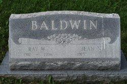Jean S. <I>Newman</I> Baldwin