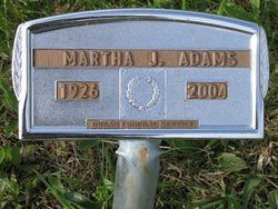 Martha Jane <I>Hollabaugh</I> Adams