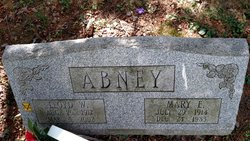 Mary Elizabeth <I>Agnew</I> Abney