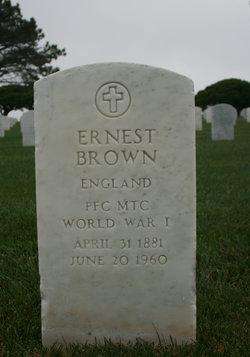 PFC Ernest Brown