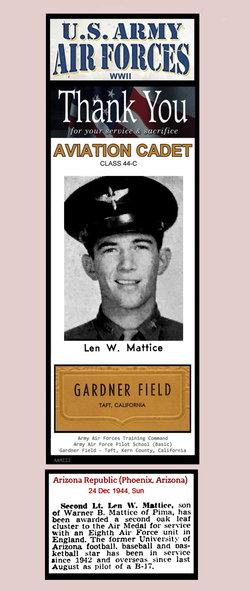 Len Warner Mattice