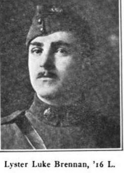 Second Lieutenant Lester Luke Brennan