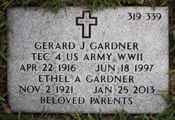 Gerard J Gardner