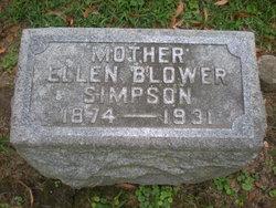 Ellen <I>Sanderson</I> Simpson