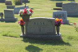 Martha Elizabeth <I>Smith</I> Rusk