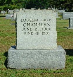 Louella <I>Owen</I> Chambers