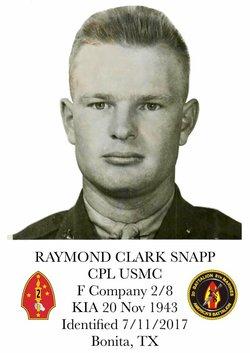 CPL Raymond Clark Snapp