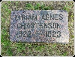 Miriam Agnes Christenson