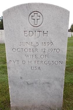 Edith <I>Benson</I> Ferguson